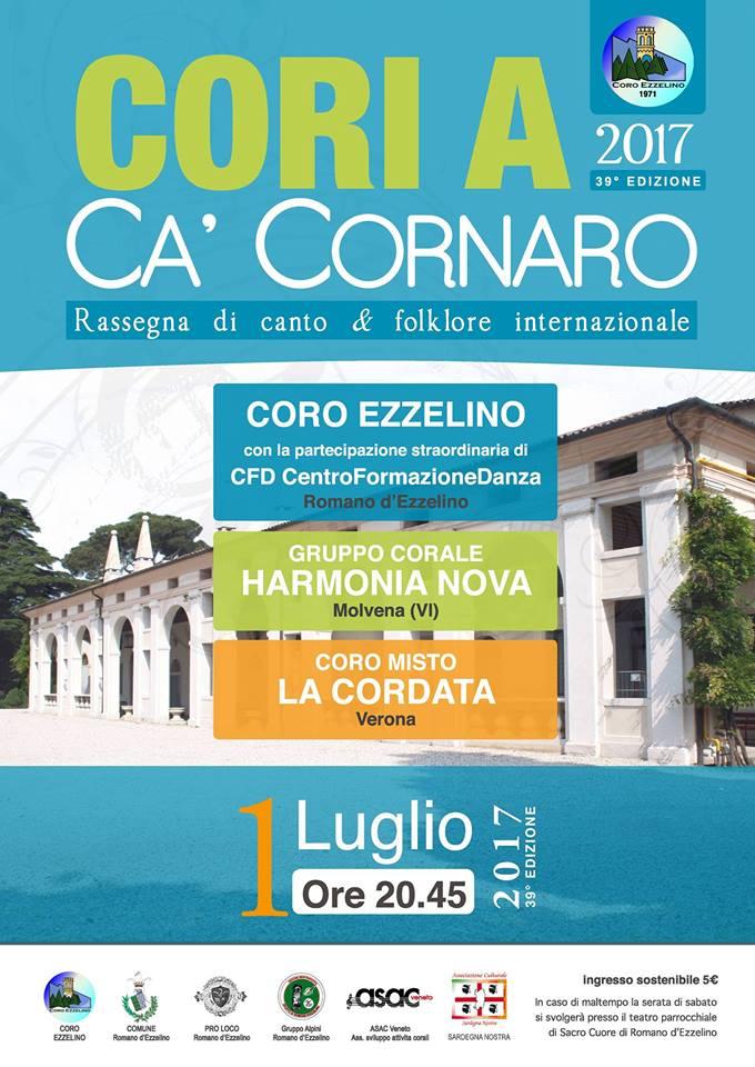 """39^ EDIZIONE """"CORI A CA' CORNARO"""""""