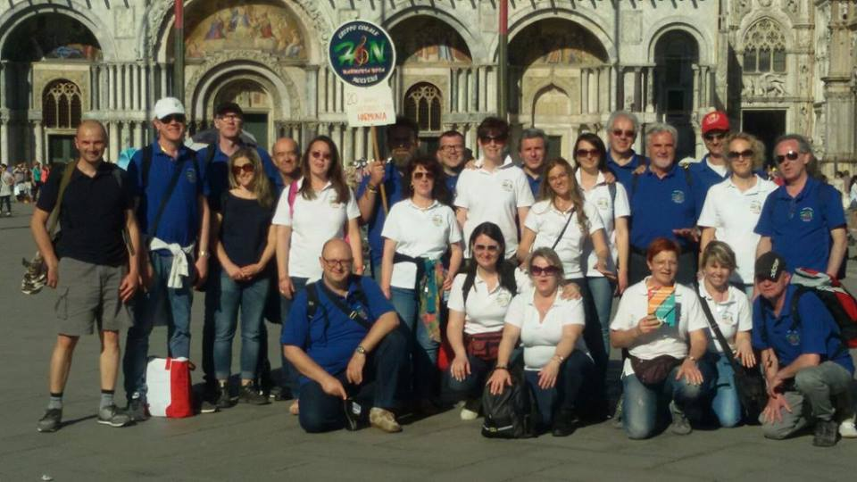 Harmonia Nova - Venezia in coro 2016 - coristi