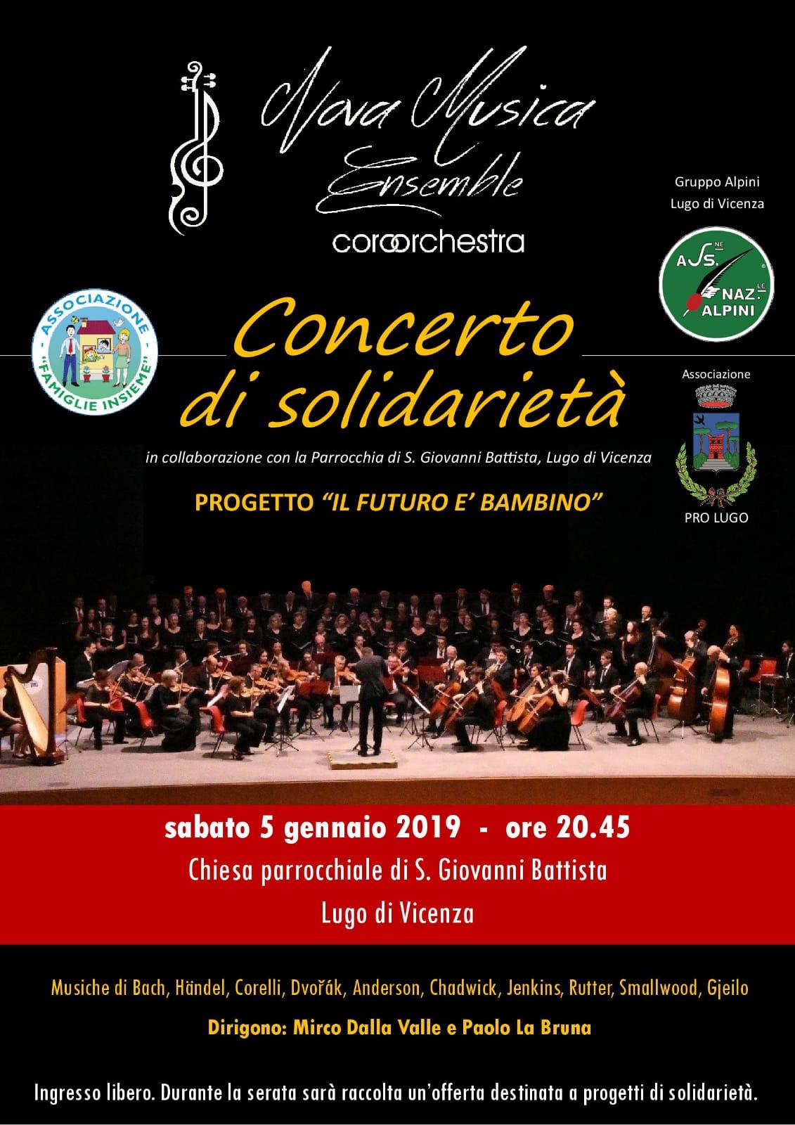 Concerto di solidarietà - Harmonia Nova