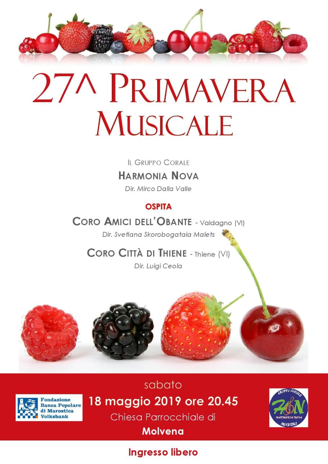 27^ PRIMAVERA MUSICALE
